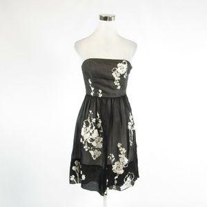 White House Black Market black silk dress 2